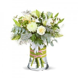 "Bouquet ""All in White"""